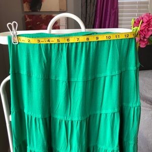 For sale green maxi skirt, Studio M ,size S